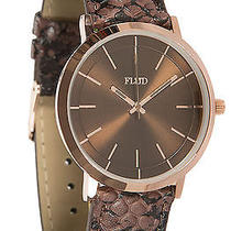 Karmaloop Flud Watches the Stunt Watch Rose Gold Multi Photo