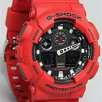 Karmaloop G-Shock the Limited Edition Ga100 Watch Red Photo