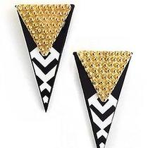 Karmaloop Miss Wax Jewelry the Dream Noir Earrings Black/white Photo