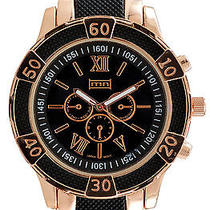 Karmaloop Mn Watches Higgins (Rose Gold/ Black) Black & Rose Gold Photo