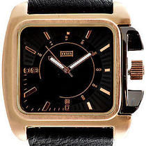 Karmaloop Mn Watches Ion (Black/ Rose Gold) Black & Rose Gold Photo