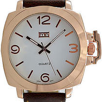 Karmaloop Mn Watches Panamera (Brown/ Rose Gold/ White) Brown & Gold Photo