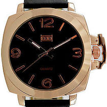 Karmaloop Mn Watches Panamera (Rose Gold/ Black) Black & Rose Gold Photo