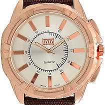 Karmaloop Mn Watches Sadler (Brown/ Rose Gold) Brown/gold Photo