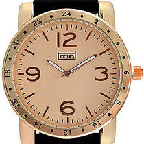 Karmaloop Mn Watches the Nolan Black & Rose Gold Photo