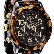 Karmaloop Nixon the 42-20 Chrono Watch Tortoise Photo