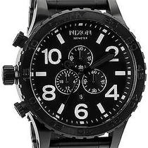 Karmaloop Nixon the 51-30 Chrono Watch Black Photo