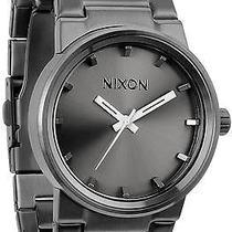 Karmaloop Nixon the Cannon Watch Gunmetal Photo