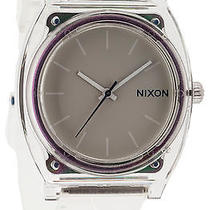Karmaloop Nixon the Time Teller P Watch White Photo