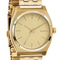 Karmaloop Nixon the Time Teller Watch Gold Photo