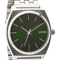 Karmaloop Nixon the Time Teller Watch Green Photo