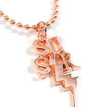 Karmaloop Ssur the Ssur Tcb Necklace Rose Gold Photo