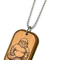 Karmaloop Swaggwood Buddha Wood Pendant Maple/brown/natural Photo