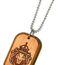 Karmaloop Swaggwood King Lion Wood Pendant Maple/brown/natural Photo