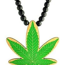 Karmaloop Swaggwood Marijuana Leaf Wood Pendant Maple/brown/natural Photo