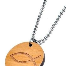 Karmaloop Swaggwood the Fish Pendant Maple/brown/natural Photo