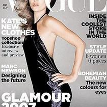 Kate Moss for Topshop Vogue Cover Black Halter Wet Look Dress Uk12 Us8 Photo
