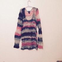 Kate Moss Topshop Grunge Knit Top Size 2  Photo