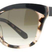 Kate Spade Amara Sunglasses Black & Blush Tortoise Cat Eye Photo