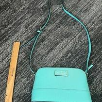 Kate Spade Aqua Bloom Shoulder Bag Crossbody Leather Small/meduim - New  Photo