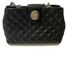 Kate Spade Astor Court Elena Quilted Black Leather Satchel Shoulder Bag Nice Bag Photo