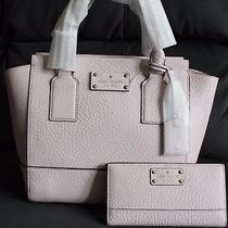 Kate Spade Bay Street Small Camryn Satchel  Wallet Pink Blush Photo