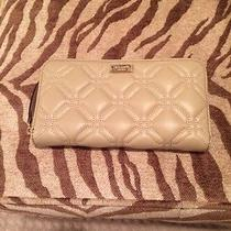 Kate Spade Beige Wallet Photo
