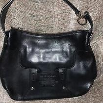 Kate Spade Black Bag Small Bag Black Leather Purse Handbag Photo
