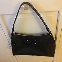 Kate Spade Black Leather Handbag Photo