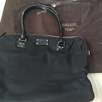 Kate Spade Black Nylon Laptop Computer Bag Photo
