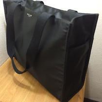 Kate Spade Black Nylon Oversize Diaper Tote Shoulder Bag Auth Photo