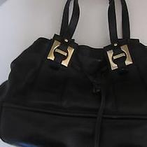 Kate Spade Black Shoulder Bag Bucket Purse Photo