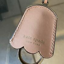 Kate Spade Blush Leather Key Chain Photo