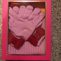 Kate Spade Bow Hat and Gloves Set Photo