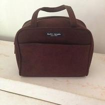 Kate Spade Brown Micro Suede Handbag Photo