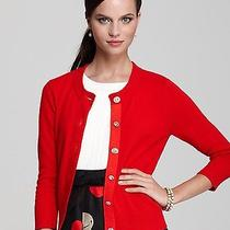 Kate Spade Cherilyn Cardigan Sweater Red Lacquer Red Nwd Photo