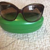 Kate Spade Cognac Color Sunglasses Photo