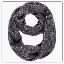 Kate Spade Cosmic Glow Sequin Infinity Scarf Grey Photo