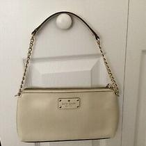 Kate Spade Cream Clutch Purse Photo