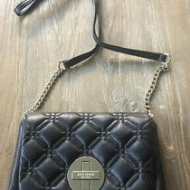 Kate Spade Crossbody Bag Black Quilted Front Small Photo