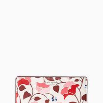 Kate Spade Eva Nouveau Bloom Large Slim Bifold Wallet   Nwt Photo