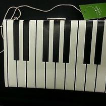 Kate Spade Fancy Footwork Emanuel Love Piano Clutch New Retail 245 Photo