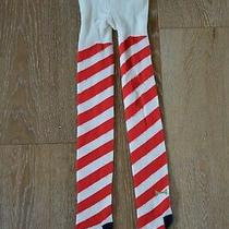 Kate Spade for Gap Girls Candy Cane Holiday Tights Size 5-6 Photo