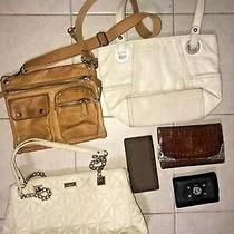 Kate Spade Fossil Brighton Purse Wallet Lot of 6 Rehab as Is Photo