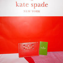 Kate Spade Graham Wellesley Leather Mini Wallet Card Holder Lacquerred Free Ship Photo