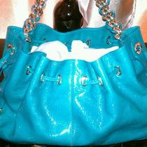 Kate Spade Handbag Turquoise Metallic Photo