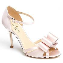 Kate Spade Ivory Ivela Ankle Strap Sandal Wedding Shoes Photo