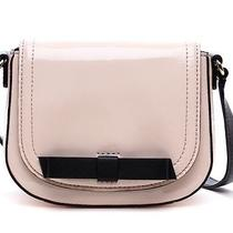 Kate Spade Jade Chelsea Park Patent Leather Bow Crossbody Bag Ballet Slipper New Photo