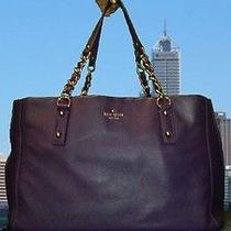 Kate Spade Leather Bag in Deep African-Violet Photo