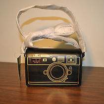 Kate Spade Lemon Street Gwen Camera Bag in Black/gold Photo